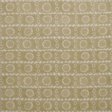 Gold Print Decorator Fabric by Lee Jofa