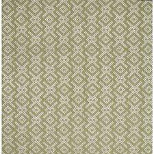 Green Geometric Decorator Fabric by Lee Jofa