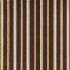 Aubergine Stripes Decorator Fabric by Lee Jofa