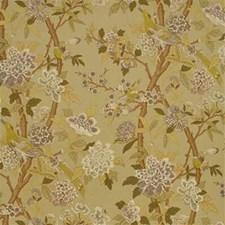 Mauve/Lime/Stone Decorator Fabric by G P & J Baker