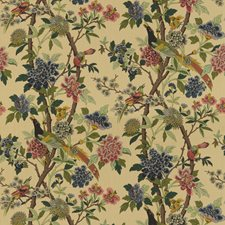 Parchment Print Decorator Fabric by G P & J Baker