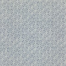 Indigo Print Decorator Fabric by G P & J Baker