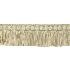Cut Fringe Cream Trim by Brunschwig & Fils