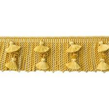 Cut Fringe Antique Gold Trim by Brunschwig & Fils