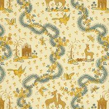 Ambre Print Decorator Fabric by Brunschwig & Fils