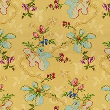 Maize Botanical Decorator Fabric by Brunschwig & Fils