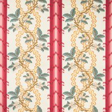 Madder/Clay Botanical Decorator Fabric by Brunschwig & Fils