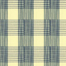 Lapis Plaid Decorator Fabric by Brunschwig & Fils