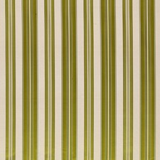 Lime Stripes Decorator Fabric by Brunschwig & Fils
