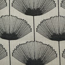 Black/Grey/Silver Transitional Decorator Fabric by JF