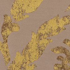 Gold Leaf Decorator Fabric by Scalamandre
