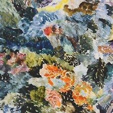 Blue Multi Decorator Fabric by Scalamandre