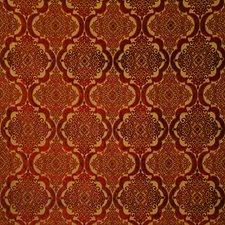 Carnelian Damask Decorator Fabric by Pindler