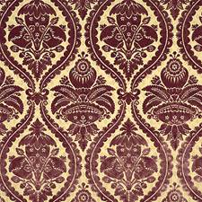 Aubergine Decorator Fabric by Scalamandre