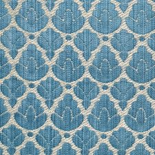 Blue/Linen Decorator Fabric by Scalamandre