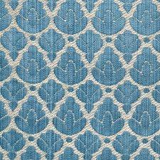 Blue/Linen Decorator Fabric by Scalamandre