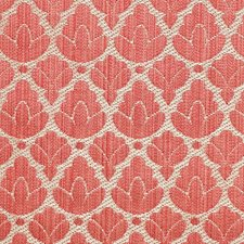 Red/Linen Decorator Fabric by Scalamandre