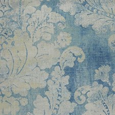 Pacific Blue Decorator Fabric by RM Coco