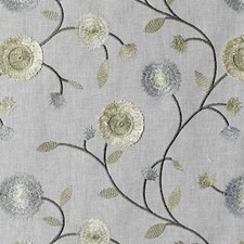 Gold/Silver Embroidery Decorator Fabric by Duralee