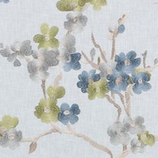 Springtime Embroidery Decorator Fabric by Duralee