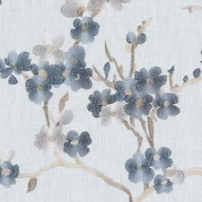 Hydrangea Embroidery Decorator Fabric by Duralee