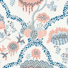 Coral Floral Large Decorator Fabric by Duralee