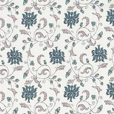Sea Green Leaf Decorator Fabric by Duralee