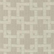 Linen Geometric Decorator Fabric by Duralee