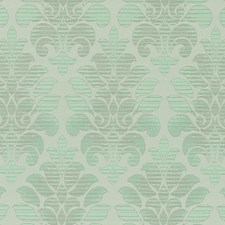 Pistachio Damask Decorator Fabric by Duralee