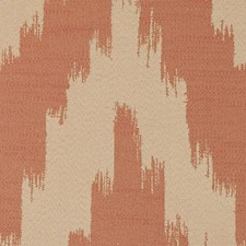 Persimmon Abstract Decorator Fabric by Duralee