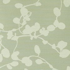 Pistachio Floral Vine Decorator Fabric by Duralee
