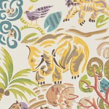 Multi Animal Decorator Fabric by Duralee