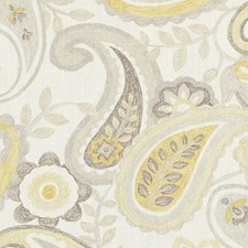 Jonquil Floral Stylized Decorator Fabric by Duralee