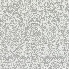 Grey Medallion Decorator Fabric by Duralee