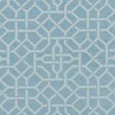 Aquamarine Chenille Decorator Fabric by Duralee