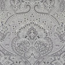 Slate Damask Decorator Fabric by Duralee