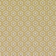 Gold Medallion Decorator Fabric by Duralee