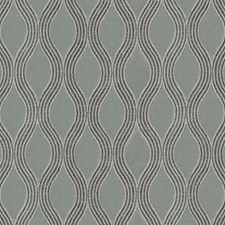 Grey/Silver Scroll Decorator Fabric by JF