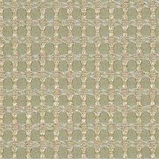 Aqua Lattice Decorator Fabric by Threads