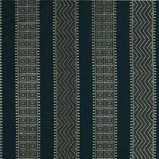 Indigo Embroidery Decorator Fabric by Threads