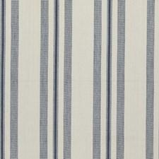 Indigo Stripes Decorator Fabric by Threads