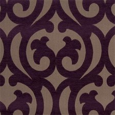 Purple Chenille Decorator Fabric by Clarke & Clarke