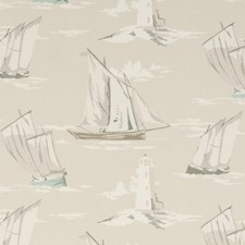 Surf Large Scale Decorator Fabric by Clarke & Clarke