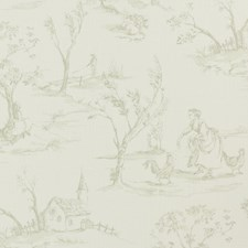 Sage Animal Decorator Fabric by Clarke & Clarke