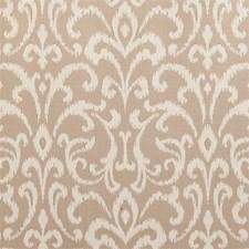 Taupe Damask Decorator Fabric by Clarke & Clarke