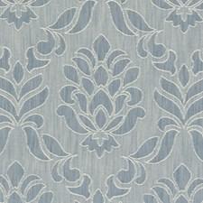 Denim Damask Decorator Fabric by Clarke & Clarke