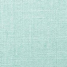 Azure Herringbone Decorator Fabric by Clarke & Clarke