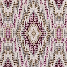 Damson Decorator Fabric by Clarke & Clarke