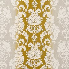 Chartreuse Damask Decorator Fabric by Clarke & Clarke
