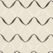 Charcoal Abstract Decorator Fabric by Clarke & Clarke